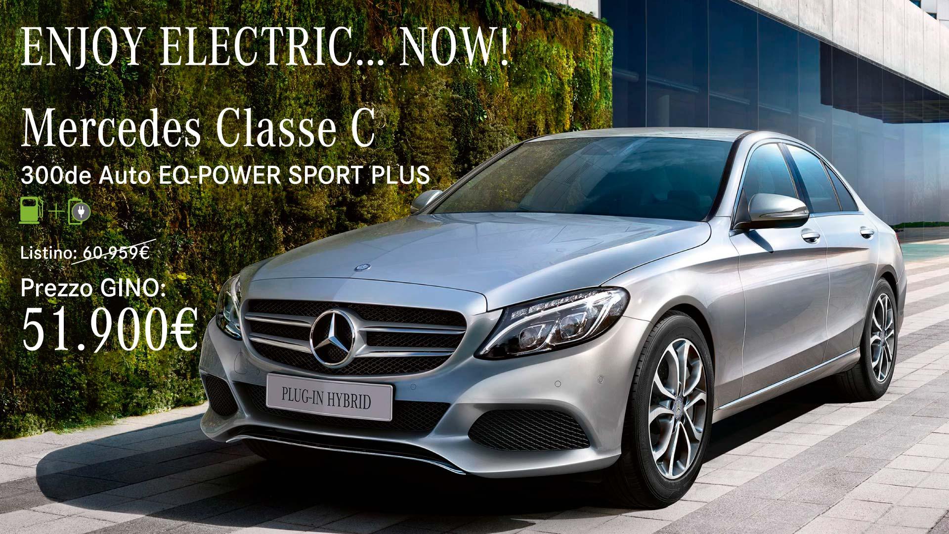 Mercedes Classe C Plug in