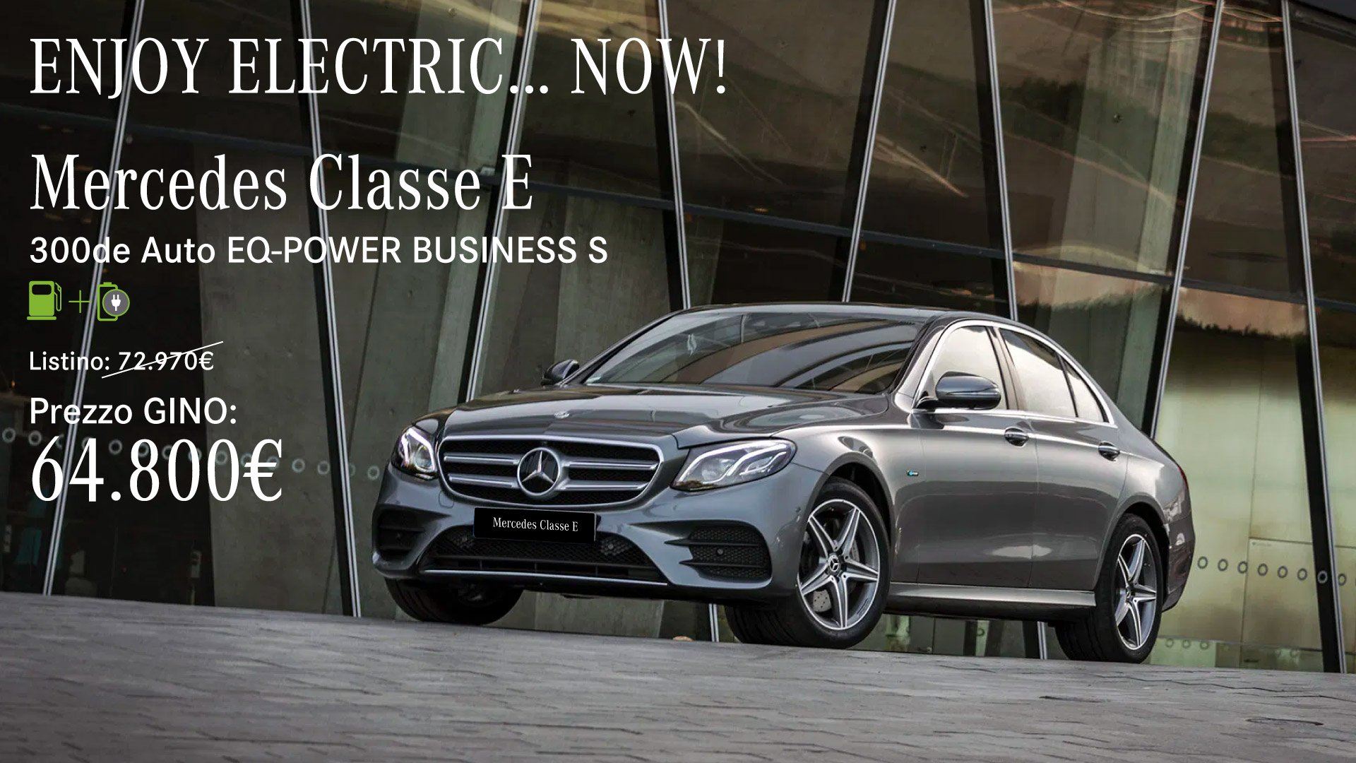 Mercedes Classe E Plug in