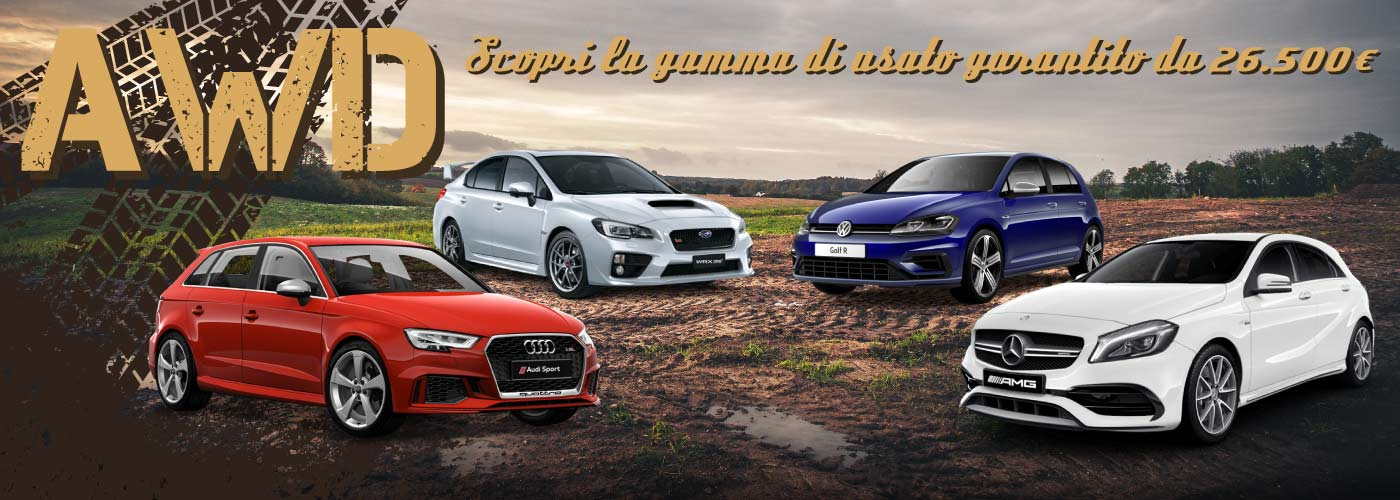 Audi SR3 - AMG A54 - Golf R - Mini JCW