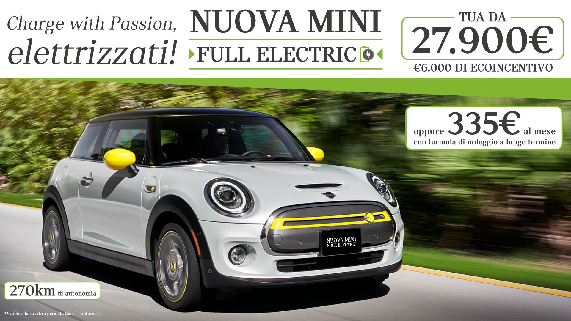 Mini full electric
